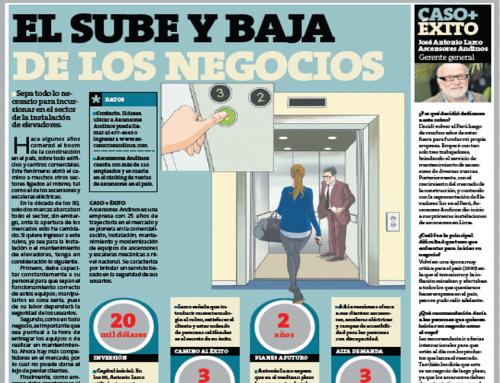 Ascensores Andinos en Diario 21